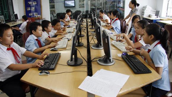 Học sinh sẽ năng nổ hơn khi tìm được thông tin mình cần.
