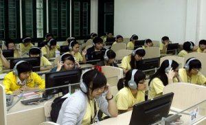 Internet giúp cho ngành giáo dục phát triển vượt bậc