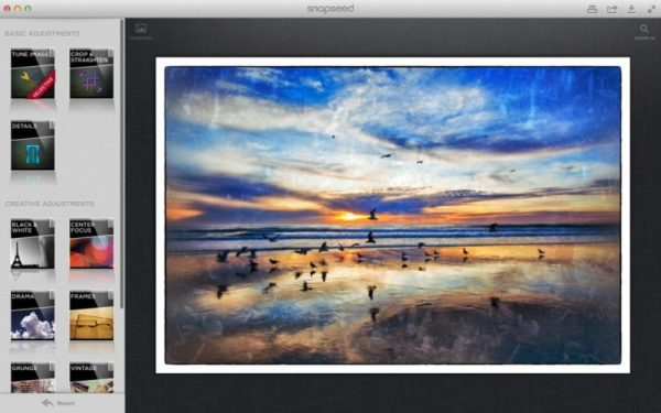 Snapseed - phần mềm chỉnh sửa ảnh trên điện thoại
