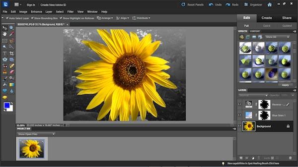 Phần mềm chỉnh sửa ảnh trên điện thoại - Adobe Photoshop Express