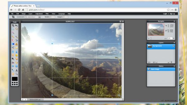 Phần mềm chỉnh sửa ảnh trên máy tính online - Photoshop Online