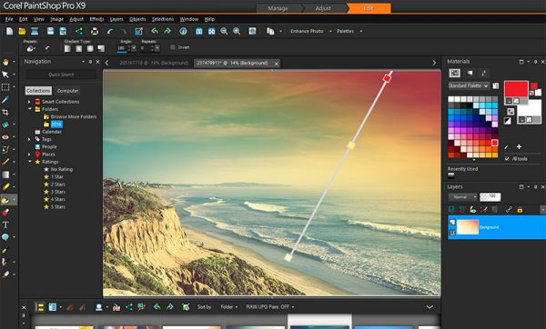 Phần mềm chỉnh sửa ảnh đẹp nhất - Corel PaintShop Pro X9