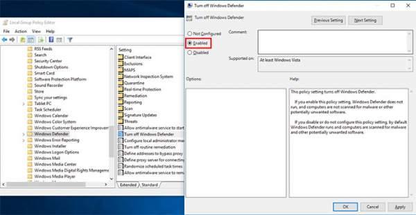 cách tắt phần mềm diệt virus