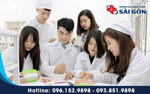 Cao đẳng Y Dược Sài Gòn điểm chuẩn