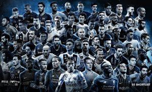 Danh sách những cầu thủ xuất sắc nhất thế giới mọi thời đại
