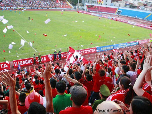 Sân vận động Lạch Tray của Hải Phòng FC