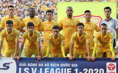 Cập nhật lịch thi đấu của đội bóng Dược Nam Hà Nam Định 2020